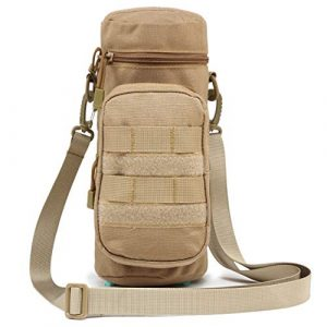 TRIWONDER Tactical Pouch 1 TRIWONDER Tactical MOLLE Water Bottle Pouch H2O Hydration Carrier, Military Bottle Holder Molle Drink Holder Travel Water Bottle Bag for Backpack Camping Outdoor