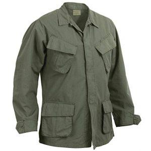 Rothco Tactical Shirt 1 Vintage Vietnam Fatigue Shirt Rip-Stop