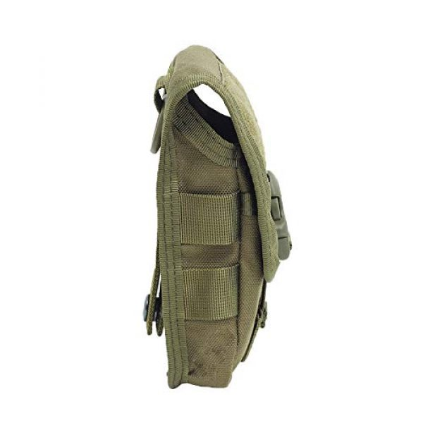 AegisTac Tactical Pouch 3 AegisTac Tactical Molle Phone Pouch EDC Utility Gadget Waist Bag Pack Cell Phone Case Smartphone Holster Bag