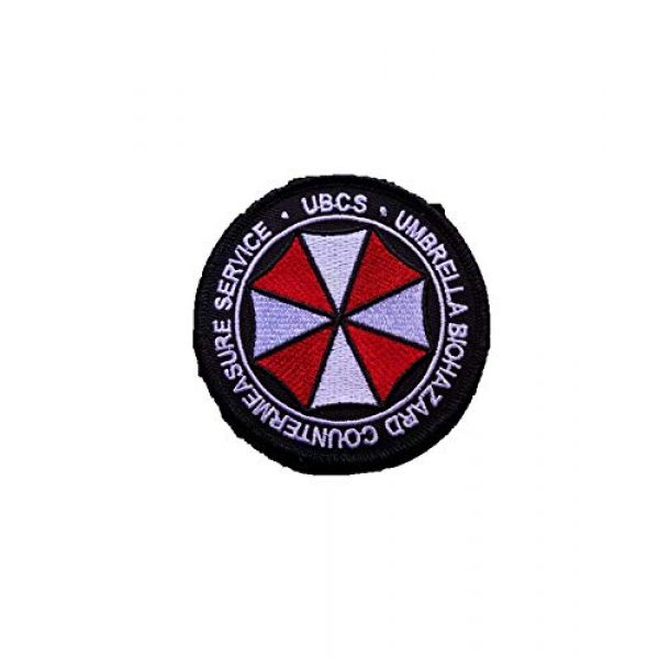 Generic Airsoft Morale Patch 1 Resident Evil UBCS Biohazard Countermeasure Cosplay Morale Patch