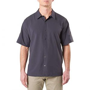 5.11 Tactical Shirt 1 5.11 Tactical Men's Corporate Freedom Flex Shirt, Short Sleeve, 100% Polyester Stretch, Style 71371