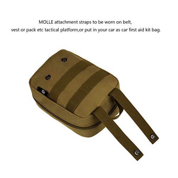 ArcEnCiel Tactical Pouch 6 ArcEnCiel EMT Molle Pouch Tactical Military IFAK Medical First Aid Kit Utility Bag