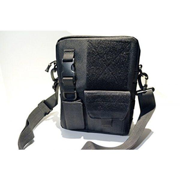 Acid Tactical Tactical Pouch 2 Acid Tactical MOLLE First Aid Bag Pouch Trauma EMT Medic Utility - Black