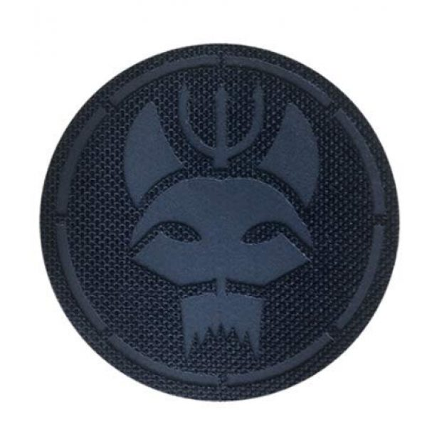 Embroidery Patch Airsoft Morale Patch 1 Seal Team Trident Cat Head Team Group Reflective IR Patch Military Tactical Clothing Accessory Backpack Armband Sticker Gift Patch Decorative Patch Embroidered Patch