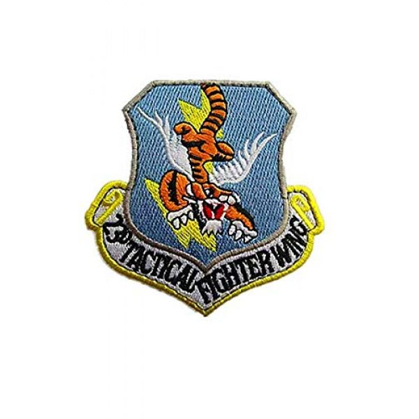 Embroidery Patch Airsoft Morale Patch 1 USAF 23rd Tactical Fighter Wing Military Tactics Morale Embroidered Patch