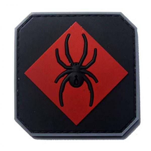 Tactical PVC Patch Airsoft Morale Patch 1 Marvel Black Widow PVC Military Tactical Morale Patch Badges Emblem Applique Hook Patches for Clothes Backpack Accessories