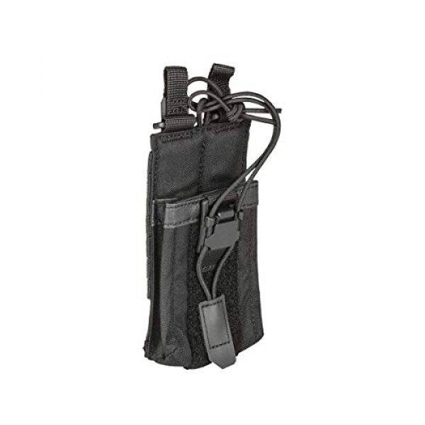 5.11 Tactical Pouch 2 5.11 Tactical Comapct, Lightweight Flex Radio Pouch, Style # 56428, Black