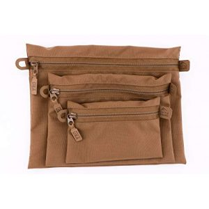 Battle Board Tactical Pouch 1 Battle Board Tactical Zip Pouch - Coyote Accessory Pouch