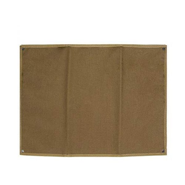 DONGKER Airsoft Morale Patch 1 DONGKER Tactical Patch Holder, Tactical Patch Display Panel Holder Board Patch Display Board Board Panel Patch Wall Display Board (Without Patch)