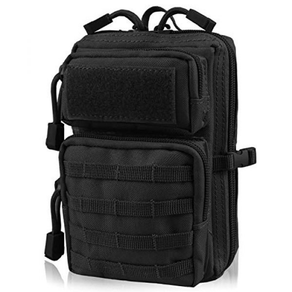 AMYIPO Tactical Pouch 1 AMYIPO MOLLE Pouch Multi-Purpose Compact Tactical Waist Bags Small Utility Pouch Mini Pocket