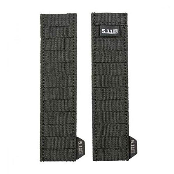 5.11 Tactical Pouch 4 5.11 Tactical Style # 56489 Flex Med Pouch, Includes Extra Flex Hook Adaptor Style # 56480, All in Black