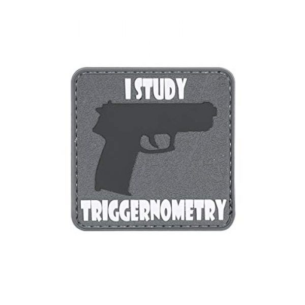 """5ive Star Gear Airsoft Morale Patch 1 5ive Star Gear """"triggernometry Quote Morale Patch, One Size, Multi-Colored"""
