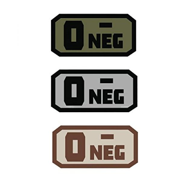 Fox Outdoor Airsoft Morale Patch 1 Fox Outdoor Products O Neg Medical & Morale Patches
