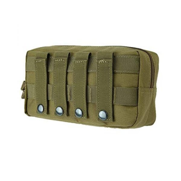 anyilon Tactical Pouch 4 anyilon Multifunction Tactical Molle Pouch Zipper Closure Large Waist Pack Outdoor Backpack Attachment Camping Hiking Pouch