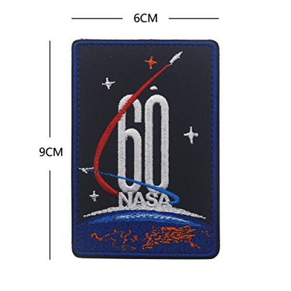 Zhikang68 Airsoft Morale Patch 6 18 PCS NASA Apollo Mission Patch Set 1,7,8,9,10,11,12,13,14,15,16,17,133,134,135 Space Patches 60th Annivers Embroidered Costume Applique Sew On Motorcycle Emblem for Travel Backpack Hats Jackets