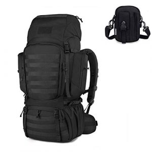 Mardingtop Tactical Backpack 1 Mardingtop Bundle Items: 60L Molle Military Tactical Backpack Black
