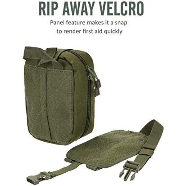 ACOMOO Tactical Pouch 3 ACOMOO Outdoor Tactics MOLLE Rip-Away Medical Emergency Rescue Bag Outdoor Medical Bag Climbing Climbing