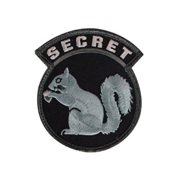 A-Plus Trading Airsoft Morale Patch 1 Secret Squirrel Patch - SWAT Color. by Milspec Monkey