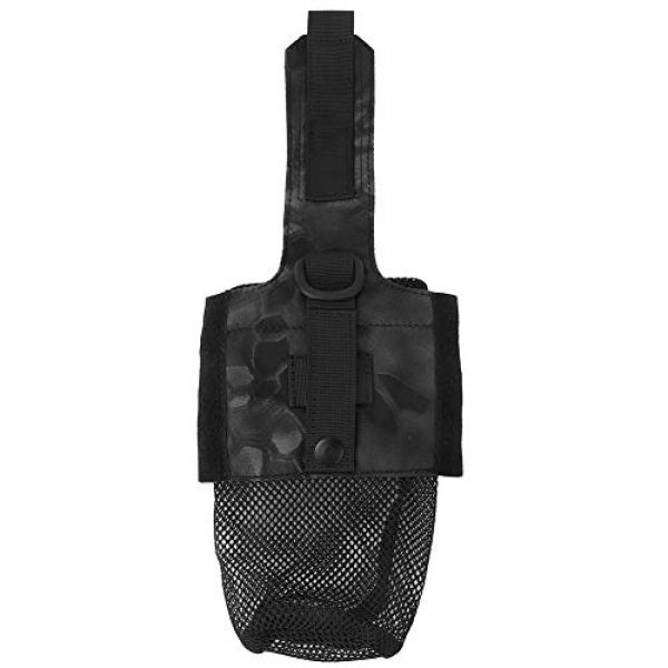 Tbest Tactical Pouch 1 Upgraded Sports Water Bottles Pouch Bag Outdoor Military Molle Water Bottle Bag Kettle Pouch Holder Bag Hiking Kettle Bags Travel Water Bottle Carry Bag for Outdoor Activities