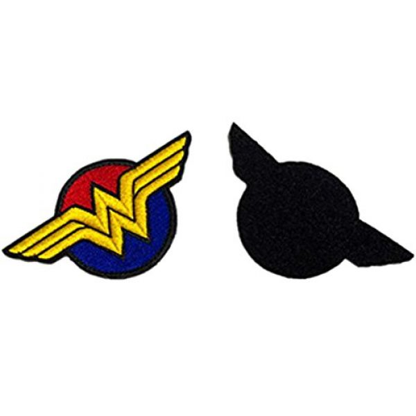 Embroidery Patch Airsoft Morale Patch 4 Wonder Woman Super Hero Tactical Military Embroidery Patch