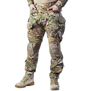 IDOGEAR Tactical Pant 1 IDOGEAR G3 Combat Pants Multicam Men Pants with Knee Pads Airsoft Hunting Military Paintball Tactical Camo Trousers
