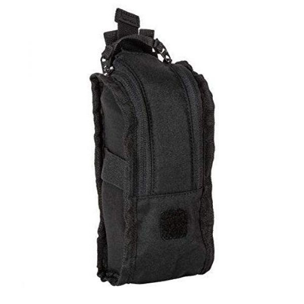 5.11 Tactical Pouch 3 5.11 Tactical Style # 56489 Flex Med Pouch, Includes Extra Flex Hook Adaptor Style # 56480, All in Black