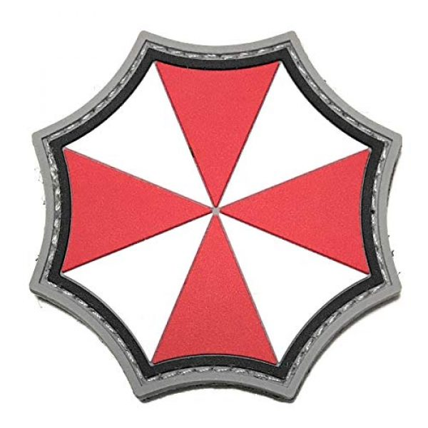 Umbrella Corporation Airsoft Morale Patch 3 Umbrella Corporation PVC Morale Patch - 3 Designs with Hook & Loop Backer