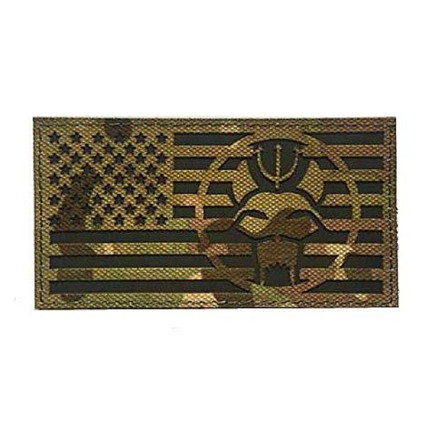 Embroidery Patch Airsoft Morale Patch 1 United States Flag US Seal Team DEVGRU Military Hook Loop Tactics Morale Patch