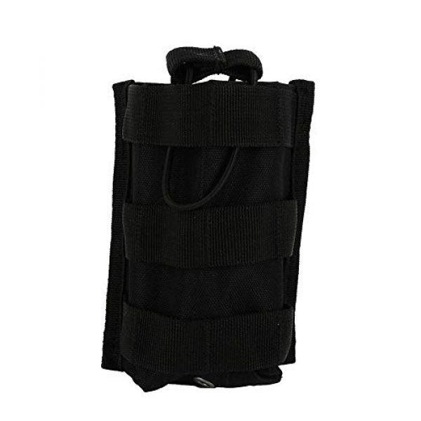 Alomejor Tactical Pouch 1 Alomejor Rifle Pistol Pouch Version Tactical Triple Pistol and Rifle Mag Pouch