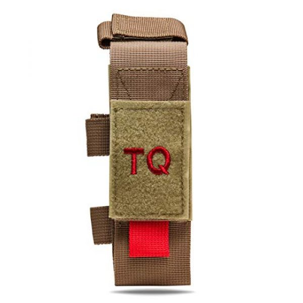ATG Tactical Pouch 1 ATG Tactical Tourniquet & Trauma Medical Shear Pouch MOLLE PALS Duty Belt Loop EMT EMS