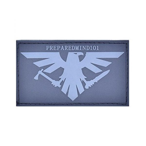 BASTION Airsoft Morale Patch 2 Bastion Tactical Combat Badge PVC Morale Patch Hook and Loop Patch - Prepared Mind 101