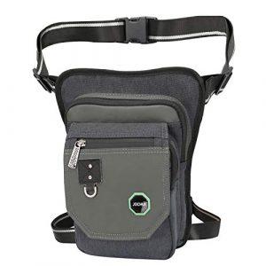 JOCHUI Tactical Pouch 1 JOCHUI Leg Bag, Thigh Bag Tactical Fanny Pack Purse Leg Pouch Bag Motrocycle Bag Waterproof