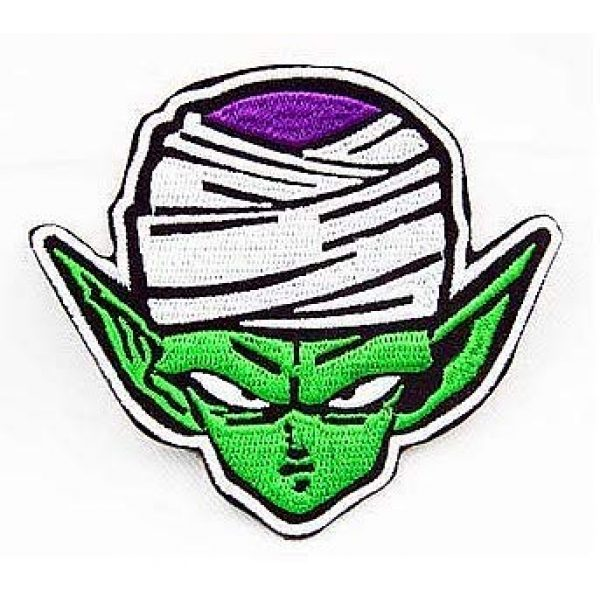 Embroidery Patch Airsoft Morale Patch 1 Dragon Ball Z Dragon Ball Piccolo Military Hook Loop Tactics Morale Embroidered Patch