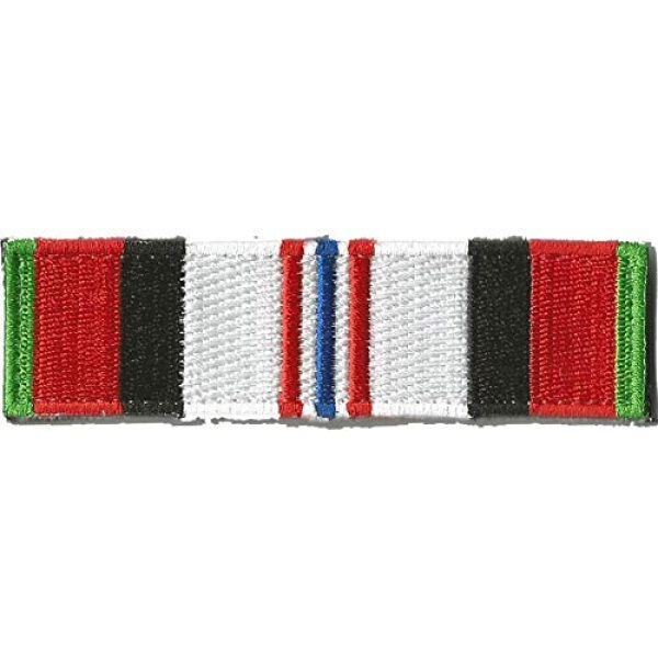 Gadsden and Culpeper Airsoft Morale Patch 1 Tactical Morale Patch - Afghanistan Service Ribbon Design