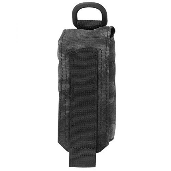 Tbest Tactical Pouch 2 Upgraded Sports Water Bottles Pouch Bag Outdoor Military Molle Water Bottle Bag Kettle Pouch Holder Bag Hiking Kettle Bags Travel Water Bottle Carry Bag for Outdoor Activities