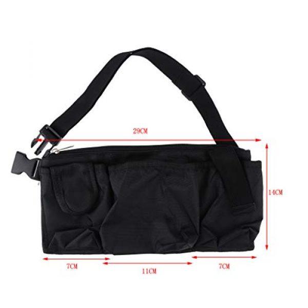 Abbraccia Tactical Pouch 5 Abbraccia Adjustable Waist Bag with Quick Release Buckle
