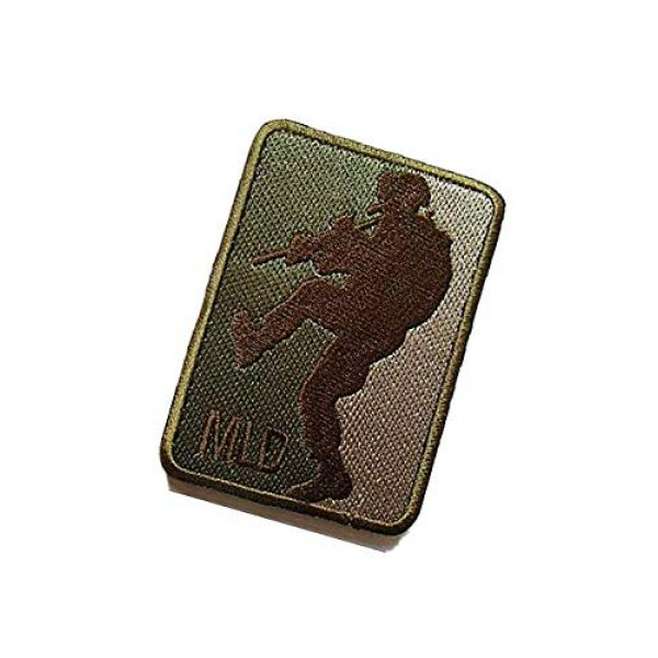 Embroidery Patch Airsoft Morale Patch 3 MLD Major League Door Kicker Military Hook Loop Tactics Morale Embroidered Patch (color4)