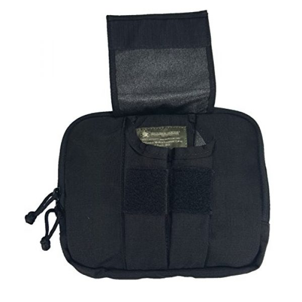 Ameratex Tactical Pouch 3 Ameratex Tactical Chest Pouch Rip Away Combat Medical Response Black