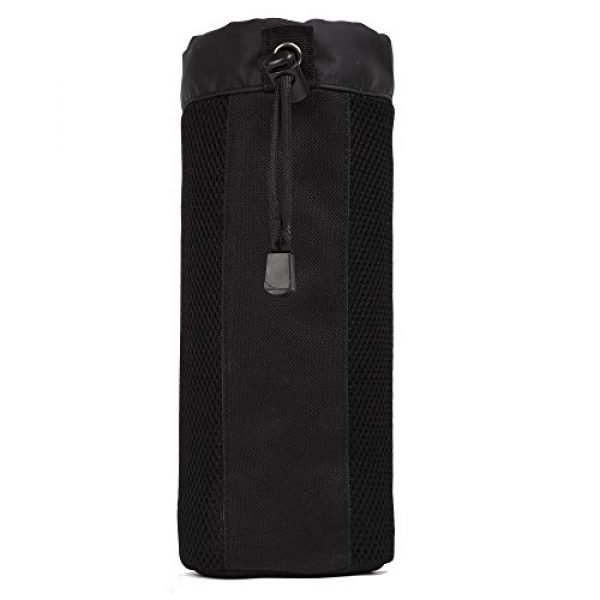 ArcEnCiel Tactical Pouch 2 ArcEnCiel Molle Water Bottle Pouch Tactical Military Mesh Kettle Set Holder Hydration Bag Carrier Pocket for Camping Climbing Cycling Hiking Travelling