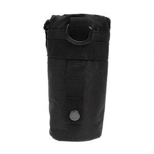 Yundxi Tactical Pouch 1 Yundxi Tactical Molle Water Bottle Pouch Kettle Bag Holder with Belt Clip,Drawstring Open Top Travel Water Bottle Bag
