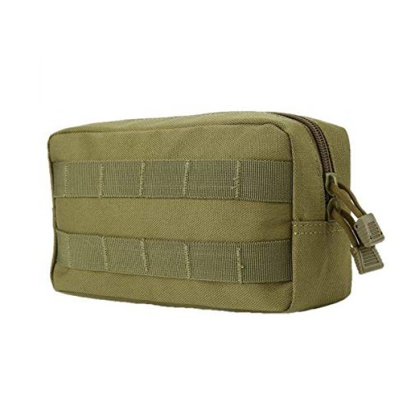 anyilon Tactical Pouch 3 anyilon Multifunction Tactical Molle Pouch Zipper Closure Large Waist Pack Outdoor Backpack Attachment Camping Hiking Pouch