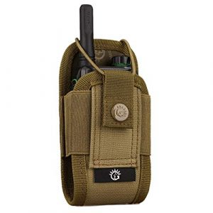 Selighting Tactical Pouch 1 Tactical Interphone Pouch - Adjustable Short Radio Holder Military Radio Holster Hunting Intercom Bag