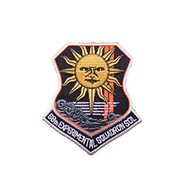 Generic Airsoft Morale Patch 1 Ace Combat 'Sol Squadron' Military morale Patch Fabric Embroidered Badges Patch Tactical Stickers for Clothes with Hook & Loop