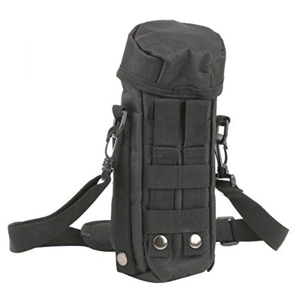 VGEBY Tactical Pouch 3 VGEBY Outdoor Water Bottle Bag Waterproof Outdoor Tactics Water Bottle Bag Pouch Hydration Carrier Sport Bag for Camping Hiking Fishing