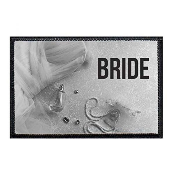 P PULLPATCH Airsoft Morale Patch 1 Bride Morale Patch | Hook and Loop Attach for Hats, Jeans, Vest, Coat | 2x3 in | by Pull Patch