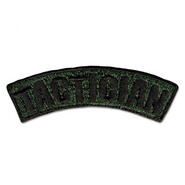 BASTION Airsoft Morale Patch 1 BASTION Morale Patches (Tactician, ODG)   3D Embroidered Patches with Hook & Loop Fastener Backing   Well-Made Clean Stitching   Military Patches Ideal for Tactical Bag, Hats & Vest