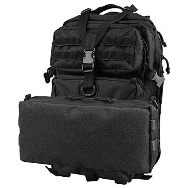 AMYIPO Tactical Pouch 7 AMYIPO Tactical Pouch Molle Admin Utility Pouches Multi-Purpose Large Capacity Increment Pouch Attachment Military Pocket Tool Holder Short Trips Bag