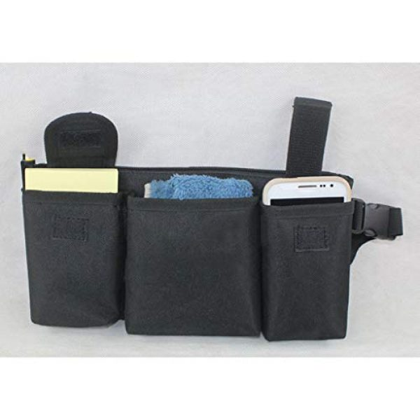 Abbraccia Tactical Pouch 4 Abbraccia Adjustable Waist Bag with Quick Release Buckle