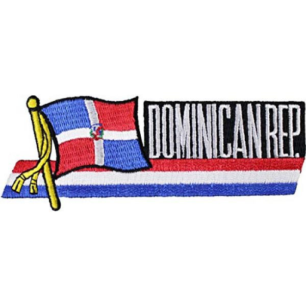 Flagline Airsoft Morale Patch 1 Dominican Republic - Country Flag Patch