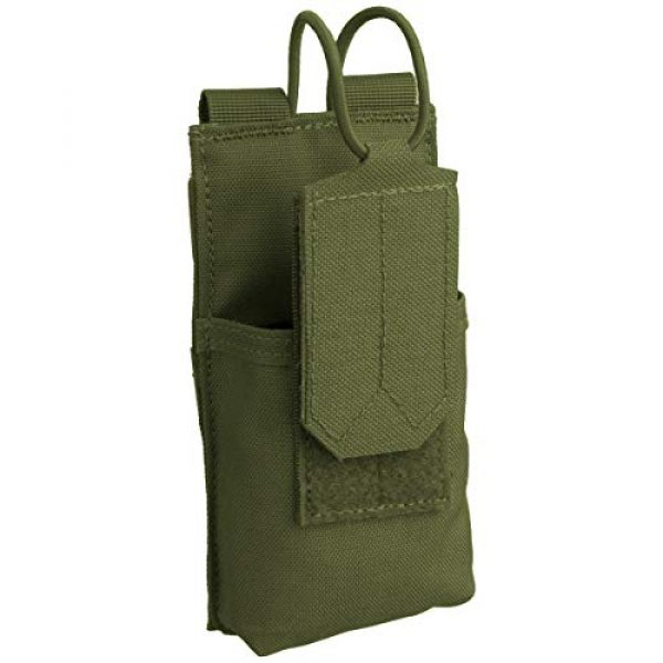 Condor Tactical Pouch 2 CONDOR 191223-001 Molle Tactical Patrol Radio Pouch OD Green